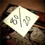 """""""80-20"""" проверенная стратегия"""